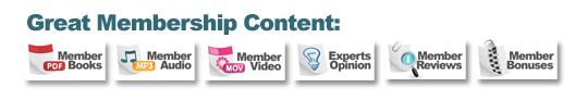 Each Training Site Has Great membership Content! - Private Label Rights | Resell Rights eBooks | Private Label eBooks